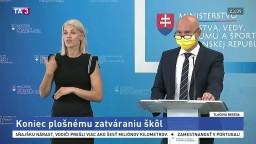 TB ministra školstva B. Gröhlinga o tom, ako bude vyzerať nový školský rok