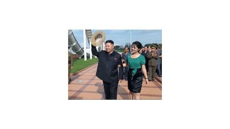 Kimova žena sa po dlhšom čase ukázala na verejnosti