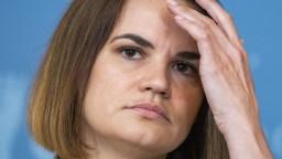 Cichanovská chce dať zablokovať Lukašenkovi prístup k peniazom menového fondu