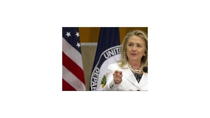 Clintonová: Voľby na Ukrajine boli krokom späť