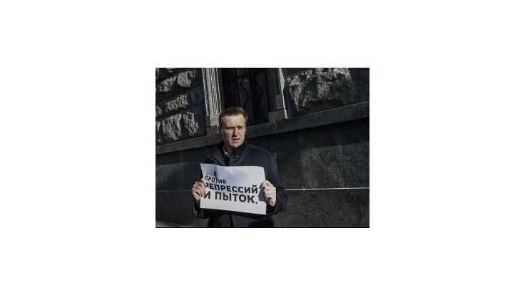 Ruský opozičný líder Navaľnyj dostal pokutu za nepovolený protest