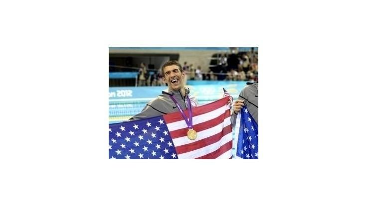 Phelps: Na olympiádu sa vrátim jedine iba ako golfista