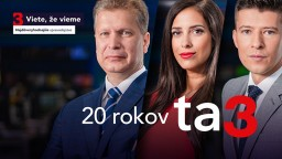 Televízia TA3 oslavuje 20 rokov