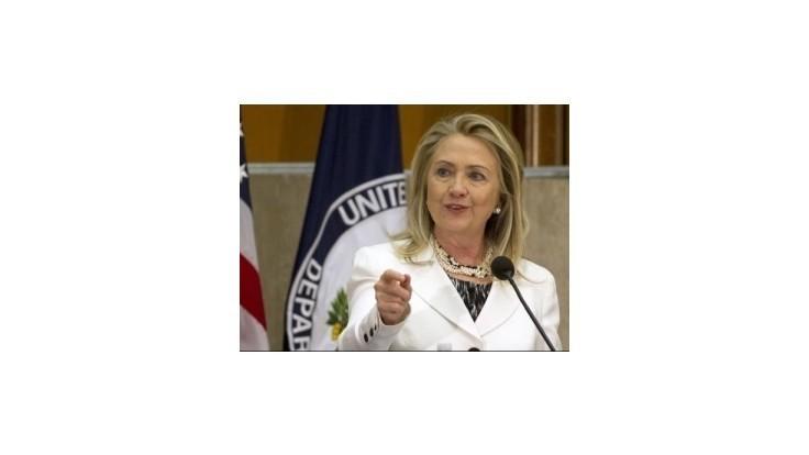 Clintonová chce zjednotiť sýrsku opozíciu
