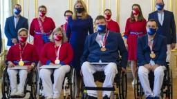 Prezidentka prijala paralympionikov, poďakovala im za vzornú reprezentáciu