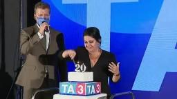 20 rokov spravodajstva. Televízia TA3 oslavuje výročie vstupu na mediálny trh