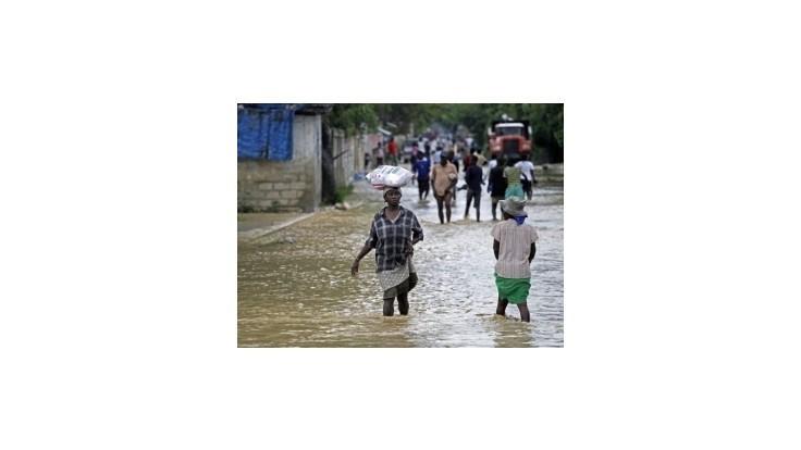 Na Haiti sa rozmohla po hurikáne Sandy cholera