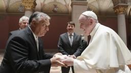 FOTO Pápež sa stretol s Orbánom. Rozhovor prebiehal za zatvorenými dverami