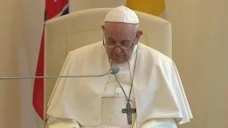Príhovor pápeža Františka a predsedu Ekumenickej rady cirkví I. Eľka na nunciatúre