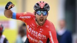 Majstrom Európy v cyklistike je Talian Colbrelli, Sagan preteky nedokončil