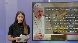 Program pápeža 13. septembra: S Čaputovou si odovzdá dary, navštívi i Misionárky lásky