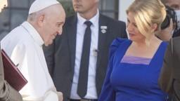 Prezidentka sa prihovorila pápežovi: Majme odvahu. Potrebujeme ľudskosť a spoluprácu