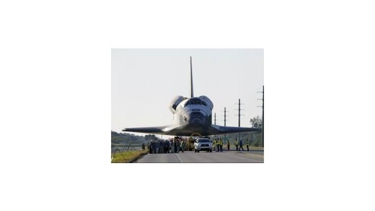 Atlantis bude vystavený v Kennedyho vesmírnom stredisku
