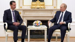 Putin privítal v Kremli Asada. Sýrsky prezident ďakoval za humanitárnu pomoc
