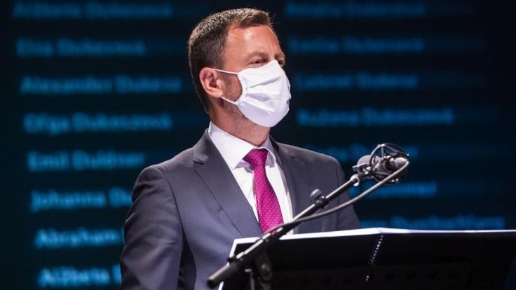 Na Slovensku vrcholí zápas o právny štát, mafia a korupcia budú porazené, hovorí Heger
