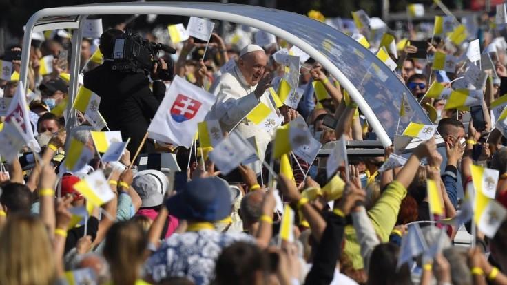 Návštevu pápeža ocenil aj predseda Košického kraja: Priniesol nádej a povzbudenie