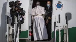 Pápež sa po návšteve Slovenska vrátil do Ríma. Panne Márii sa poďakoval za ochranu počas cesty