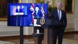 USA, Británia a Austrália nahnevali Paríž, podpísali zvláštny pakt o bezpečnosti