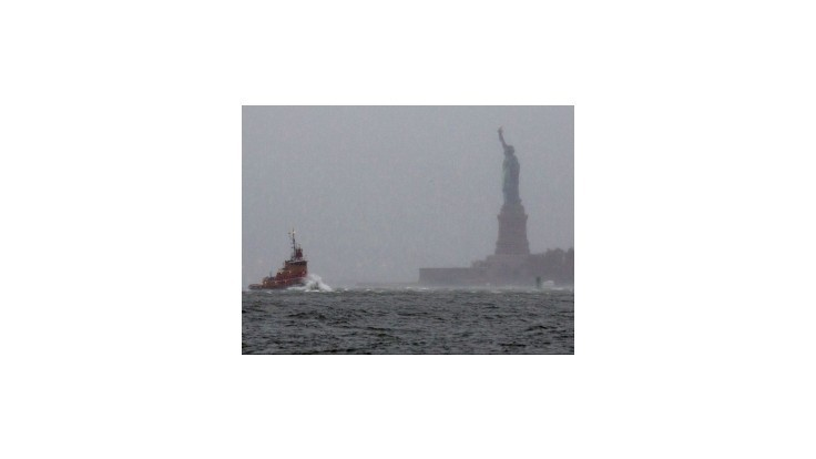 Kriminalita v New Yorku po búrke Sandy poklesla o tretinu