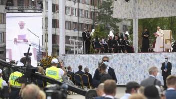 Na Luníku IX chcú vytvoriť oddychovú zónu s krížom pripomínajúcim pápeža