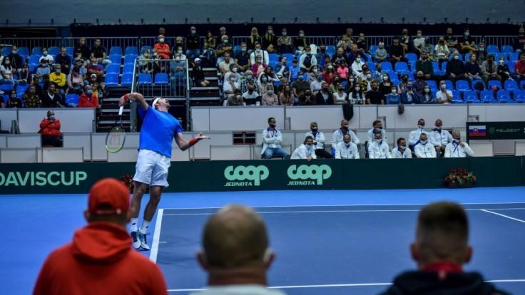 Slovenskí tenisti v úvodnom dni Davis Cupu vyrovnali s Čile