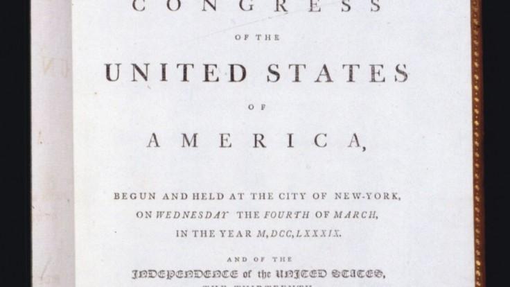 Vzácny výtlačok americkej ústavy ide do dražby. Odhadovaná cena je 20 miliónov dolárov