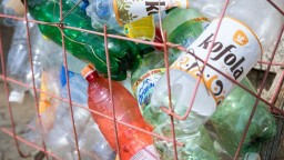 Vo Veľkom Krtíši vyzbierali za pol roka 67 ton plastového odpadu