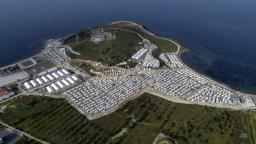 Na gréckom ostrove otvorili nový utečenecký tábor. Platia v ňom prísne pravidlá