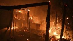 V utečeneckom tábore na ostrove Samos vypukol požiar. Nachádzalo sa v ňom tristo ľudí