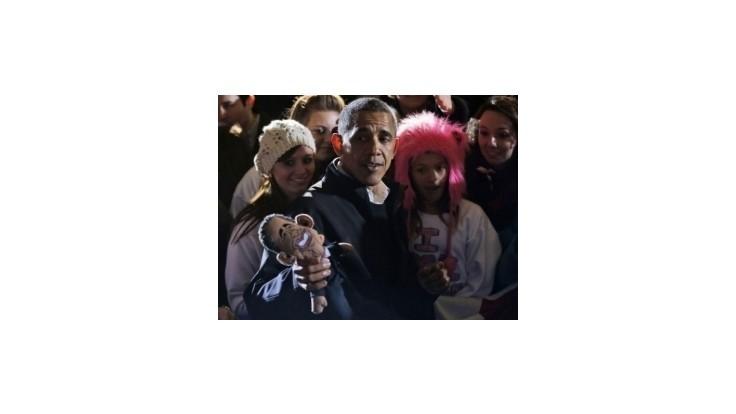 Americká prezidentská kampaň v obrazoch