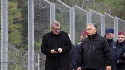 Orbán s Babišom si boli pozrieť zabezpečenie maďarsko-srbskej hranice