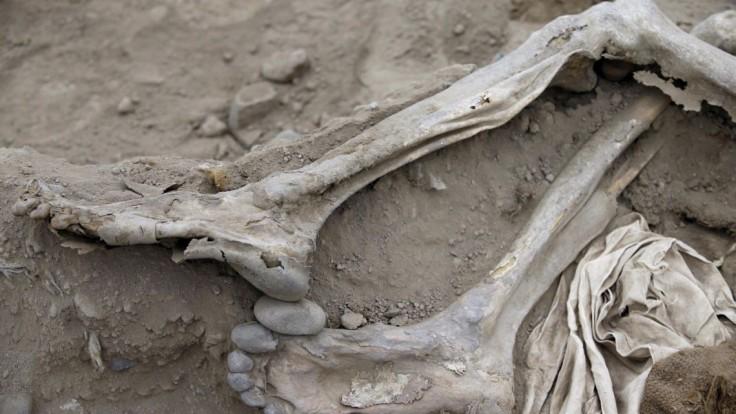Dôležitý nález. Našli 800-ročný hrob ôsmich ľudí, pochovali ich s jedlom a hudobnými nástrojmi