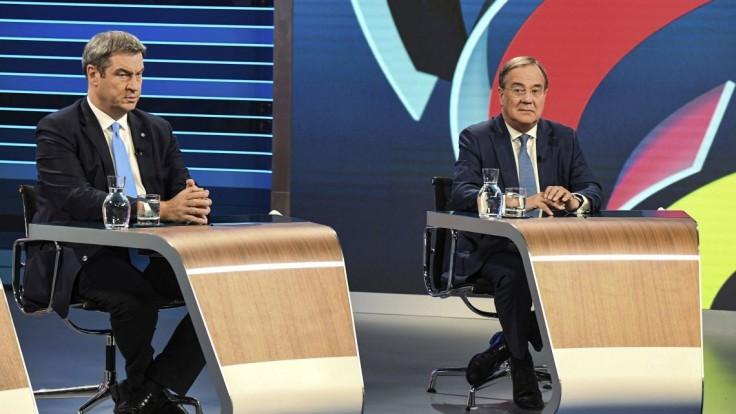Kandidáti na kancelára sa poslednýkrát pred voľbami stretli v televíznej debate
