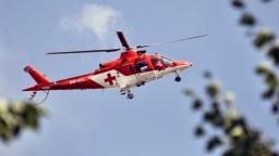 Na východe sa zrazil motocyklista s autom, zasahovali leteckí záchranári