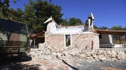 Krétu zasiahlo silné zemetrasenie. Vyžiadalo si minimálne jednu obeť