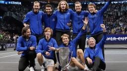 Laver Cup opäť patrí Európe: K obhajobe titulu stačil bod, rozhodujúci získali Rublev a Zverev