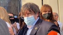 Katalánskeho expremiéra prepustili z väzenia, nakrátko sa vrátil do Bruselu