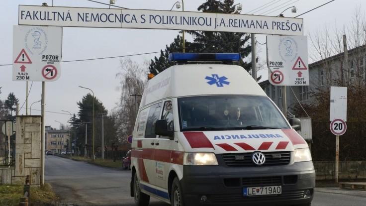 Fakultná nemocnica v Prešove dostala pokutu takmer 90-tisíc eur