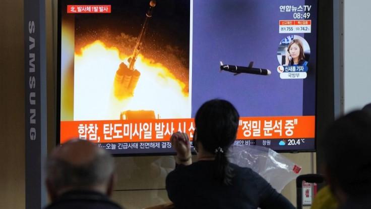 KĽDR mala odpáliť neidentifikovanú strelu, mohlo ísť o balistickú raketu
