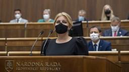 Prezidentka vystúpila so správou o stave republiky: Slovensko zúfalo potrebuje stabilitu