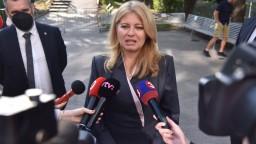Jednou z možností, ako vyviesť Slovensko z krízy sú i predčasné voľby, hovorí prezidentka