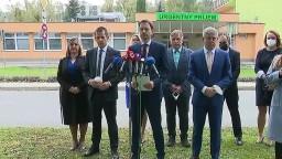 TB premiéra E. Hegera a ministra V. Lengvarského o pomoci pre zdravotníkov