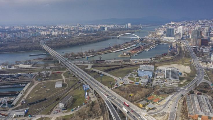 V Bratislave otvoria nájazdovú vetvu z Bajkalskej na Prístavný most