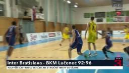 Napínavý súboj medzi Interom Bratislava a BKM Lučenec sa skončil rozdielom iba štyroch bodov