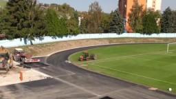 Nového atletického štadióna sa čoskoro dočká aj Orava
