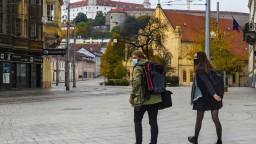 Bratislava zostáva v oranžovej farbe, odporučil to regionálny hygienik