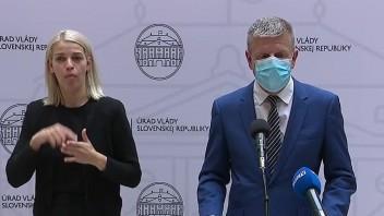 TB ministra zdravotníctva V. Lengvarského o aktuálnej epidemickej situácii