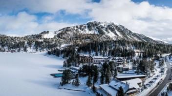 Skvelý tip na lyžovačku s animátormi v stredisku Turracher Höhe v hoteli Panorama v Alpách