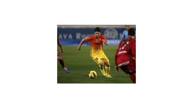 Messi prekonal Pelého, Barcelona stále bez prehry