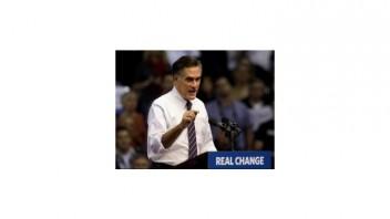 Romney sa konečne ozval, Obamu obvinil z kupovania voličov